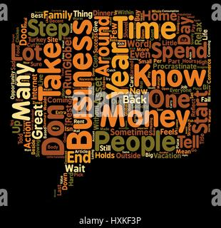 How To Start Your Own Home Business Text Background Word Cloud