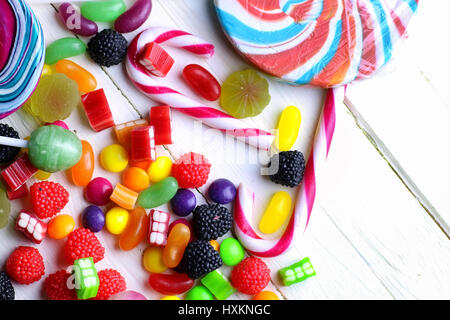 sweet candy jelly bean - Stock Photo