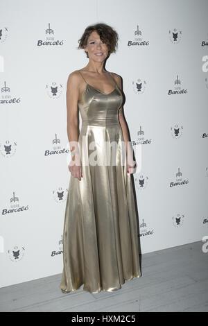 Luna Berlusconi attends Gemeliers 18th Birthday photocall at Foxx restaurant  Featuring: Luna Berlusconi Where: - Stock Photo