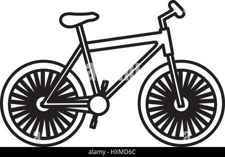 figure bicycle transportation image - Stock Photo