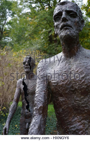 The Memorial to the Victims of Communism in Prague commemorating the victims of the communist era between 1948 and - Stock Photo
