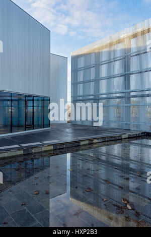 'Nucleus', the Nuclear and Caithness Archives building, Wick, Caithness, Scotland, UK - Stock Photo