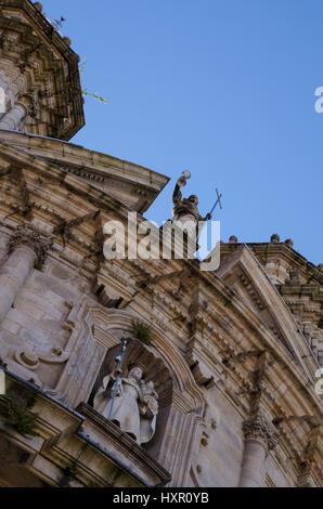 The Chapel of the Pilgrims on the Camino de Santiago in Pontevedra, Pontevedra, Galicia, Spain, Europe - Stock Photo