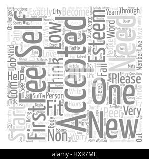 Acceptance text background word cloud concept - Stock Photo