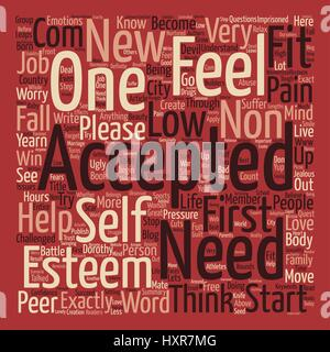 Acceptance Word Cloud Concept Text Background - Stock Photo