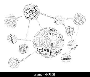 Automotive Tvr text background word cloud concept - Stock Photo