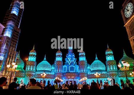 Amazing Global Village in Dubai - Stock Photo