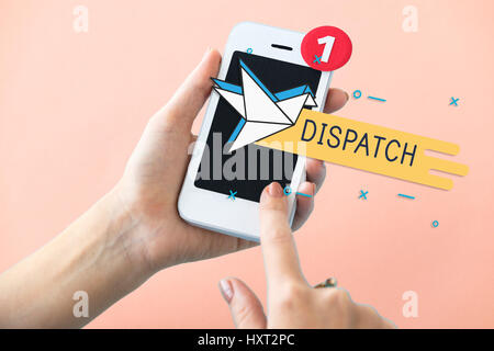 Mail Postal Communication Connection Correspondence - Stock Photo