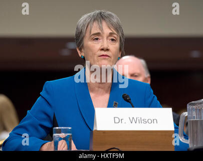 Washington, USA. 30th Mar, 2017. Former United States Representative Heather A. Wilson (Republican of New Mexico) - Stock Photo