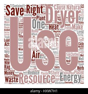 Energy Aware and Waste Wise Word Cloud Concept Text Background - Stock Photo