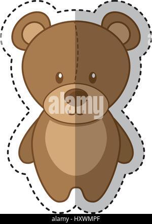Bear Mascot Vector Happy Stock Photo, Royalty Free Image ...