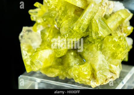 Brazilianite mineral stone - Stock Photo