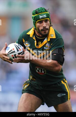 JONATHAN THURSTON AUSTRALIA DW STADIUM  WIGAN ENGLAND 31 October 2009 - Stock Photo