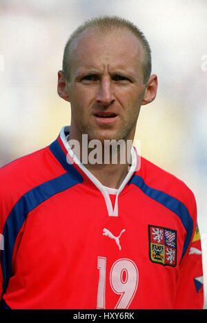 KAREL RADA CZECH REPUBLIC & SLAVIA PRAGUE 16 June 2000 - Stock Photo