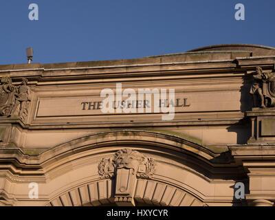 Usher Hall, Edinburgh, Scotland. - Stock Photo
