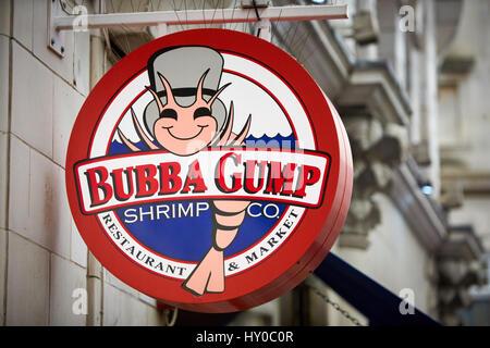 Bubba Gump Shrimp Co (Interational Marketing) Essay