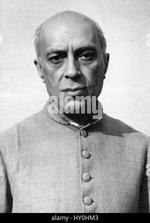 Indian first prime minister, jawaharlal nehru, india, asia - Stock Photo