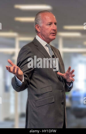 Alex Wilmot-Sitwell heads Bank of America Merrill Lynch's businesses - Stock Photo