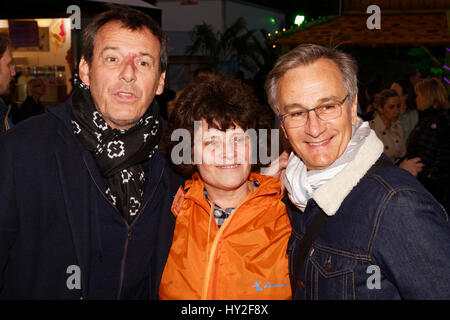Paris, France. 31st March, 2017. Jean-Luc Reichmann, Dominique Bayle, Co-Founder - Executive Director of the Association - Stock Photo