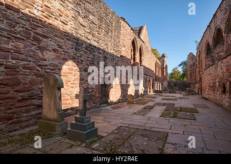 Beauly priory Inverness scotland - Stock Photo