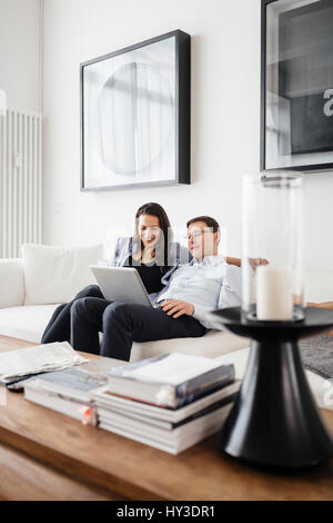 Germany, People enjoying time together - Stock Photo