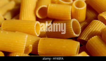 Mezze maniche pasta - Stock Photo
