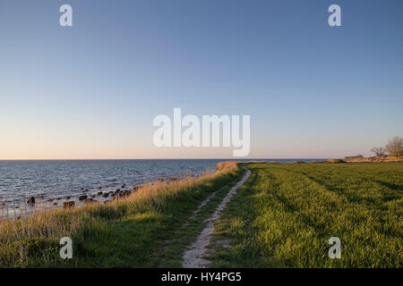 path on the sea - Stock Photo
