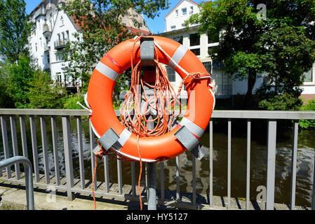 Life preserver, Rettungsring - Stock Photo