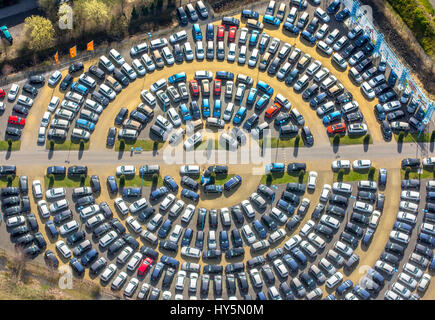 aerial view of circular parking lot stock photo royalty free image 47877246 alamy. Black Bedroom Furniture Sets. Home Design Ideas