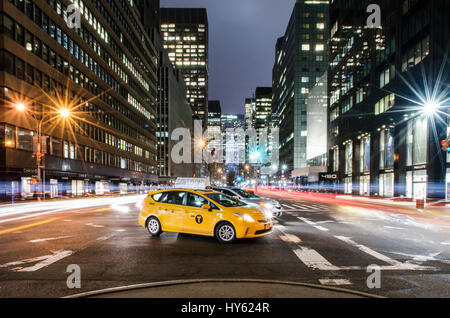 Park Avenue, New York City - Stock Photo