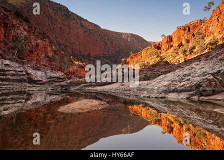 Ormiston Gorge in the West MacDonnell National Park, Australia Northern Territory - Stock Photo