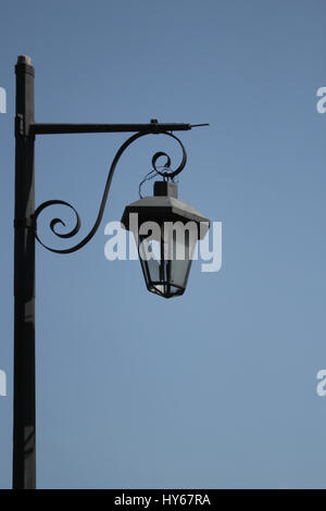 Street lamp with the light off - Stock Photo