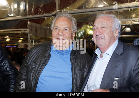 Paris, France. 31th March, 2017. Massimo Gargia Marcel Campion attend at Opening evening of the Throne Fair for - Stock Photo