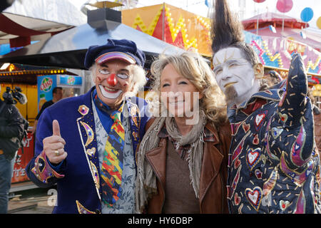Michel Lebeau,a personality,Christall attend at Opening evening of the Throne Fair for the benefit of the Petits - Stock Photo