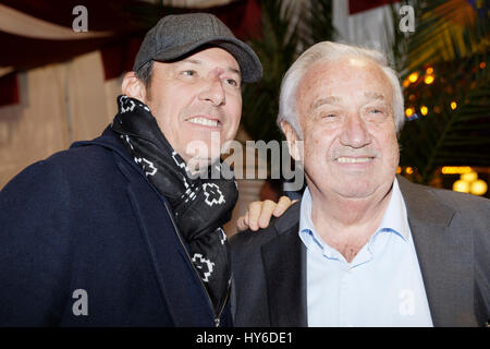 31th March,2017.Jean-Luc Reichmann,Marcel Campion attend at Opening evening of the Throne Fair for the benefit of - Stock Photo