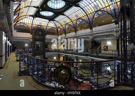 Mexico City Gran Hotel Ciudad de Mexico - Stock Photo