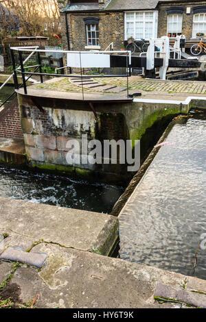 St Pancras Lock, Regent's Canal, London, 2012 - Stock Photo