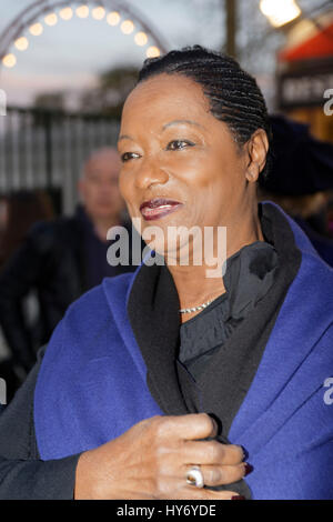 Paris, France. 31th March, 2017.Babette de Rosieres attend at the Throne Fair for the Association Petits Princes, - Stock Photo