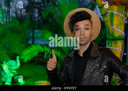Paris, France.31th March,2017.Bruno Monoere attends at Opening evening of the 2017 Throne Fair  Paris, France. ©Veronique - Stock Photo
