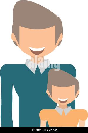 dad and kid infant image vector illustration eps 10 - Stock Photo