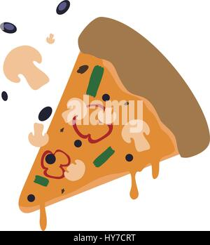 Pizza Slice Illustration