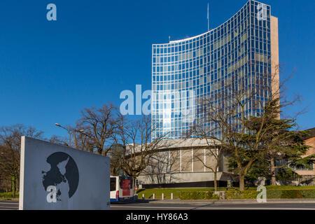 World Intellectual Property Organization (WIPO), Geneva, Switzerland - Stock Photo