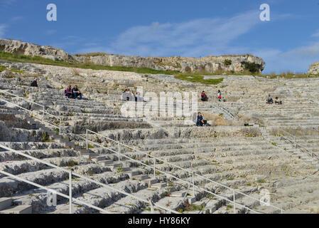 Teatro Greco, Neapolis, Syracuse, Sicily, Italy, Syrakus, Sizilien, Italien
