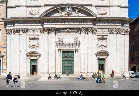Church in Rome - Stock Photo