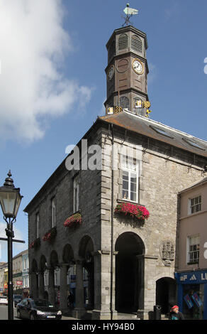 The Tholsel in Kilkenny, Ireland.   The building was originally built for collecting tolls in and after a variety - Stock Photo