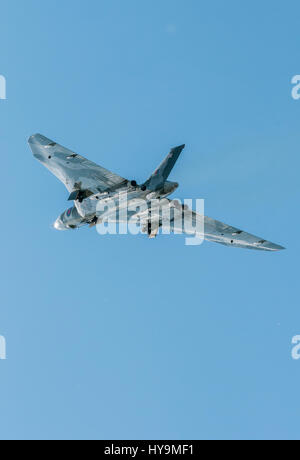 AVRO Vulcan XH355 - Vulcan to the skies - Stock Photo