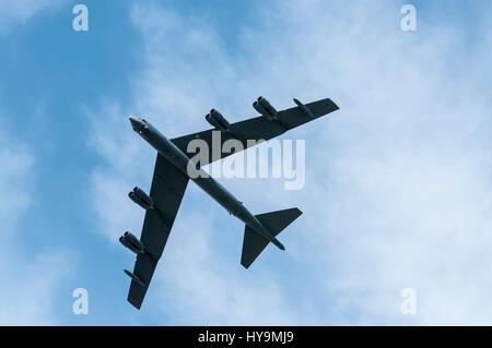 USAF B-52 Stratofortress - Stock Photo