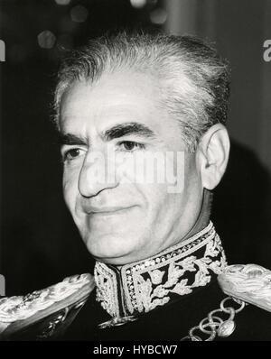 Shah Mohammad Reza Pahlavi, Tehran, Iran - Stock Photo