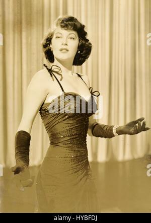 American actress Ava Gardner - Stock Photo