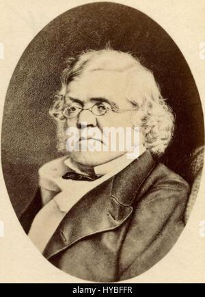 William Makepeace Thackeray, English novelist - Stock Photo
